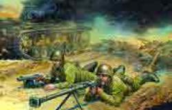 Soviet Anti Tank Team (2 fig. 2 guns) 1/72
