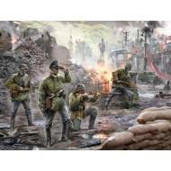German Elite Troops (4 fig.) 1/72