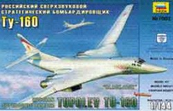 TUPOLEV TU-160 SUPERSONIC STRATEGIC BOMBER 1/144