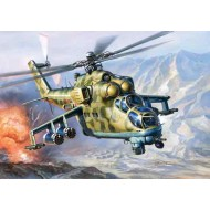 MIL-24 UP Russian Attack Helicopter 1/144