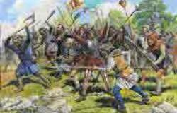 Medieval PEASANT ARMY 1/72