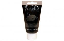 Artello acrylic 75ml Pearlized Black