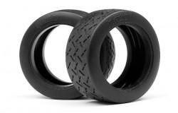 WR8 Tarmac Tire D Comp (2.2inch/57X80Mm/2Pcs)