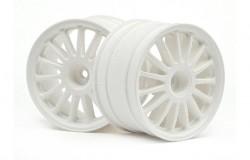 WR8 Tarmac Wheel White (2.2inch/57X35Mm/2Pcs)