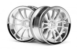 Work Xsa 02C Wheel 26Mm Chrome/White (6Mm Offset)