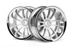 Work Xsa 02C Wheel 26Mm Chrome/White (9Mm Offset)