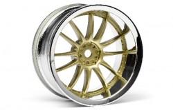 Work Xsa 02C Wheel 26Mm Chrome/Gold (6Mm Offset
