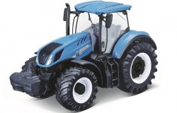 Tractor New Holland T7.315 10cm blue