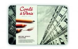 The Sketch Set Conte A Paris