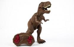 Tyrannosaurus R/C w/spray, light & sound