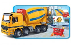 Lastbil med betonblander 41cm