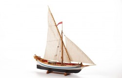 1:80 LE MARTEGAOU - Wooden hull