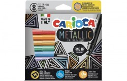 Metallic Fineliner 8pcs