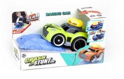 Crash Stunt Car med lys, 4xlyd & Try Me, grøn