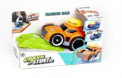 Crash Stunt Car med lys, 4xlyd & Try Me, orange