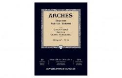 Arches Sketch pad glue 105 g 26x36cm 20 sh.