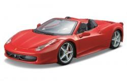 Ferrari 458 Spider 1:24 red