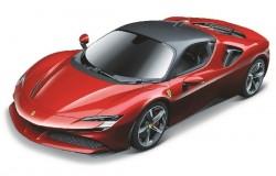 Ferrari SF90 Stradale 1:24 red